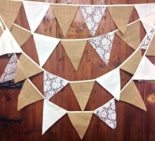Messel's Makers - Festival bunting