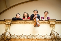 The Elias String Quartet, Saturday 21 May by Mike Fossey
