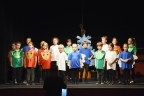Young stars shine on stage